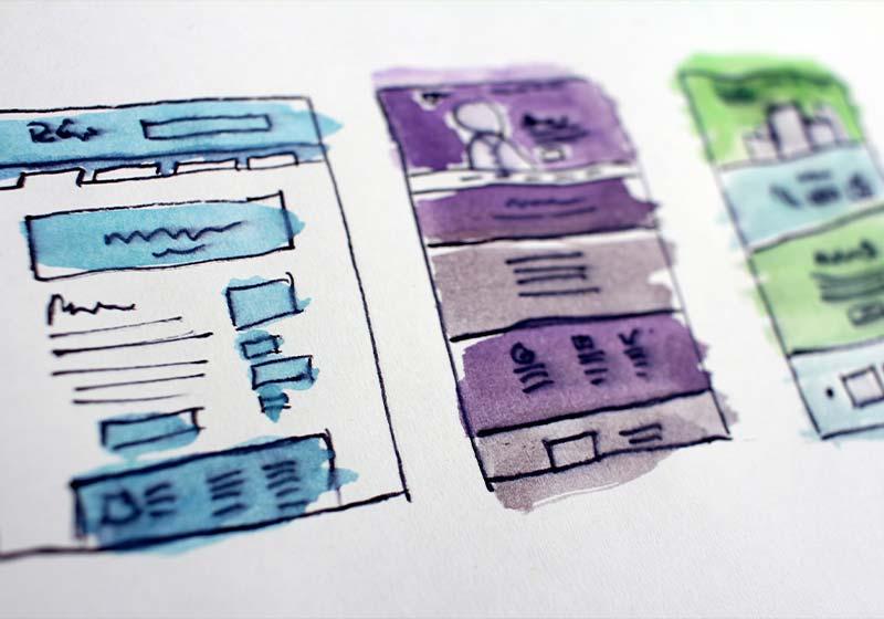 Il sito web- WHICA design e comunicazione