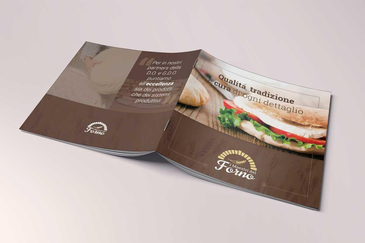 I Maestri del Forno - Realizzazione brochure aziendale - WHICA | Grafica e Web per la Comunicazione Aziendale | Realizzazione siti web, e-commerce, grafica pubblicitaria, marketing on-line e off-line | Napoli