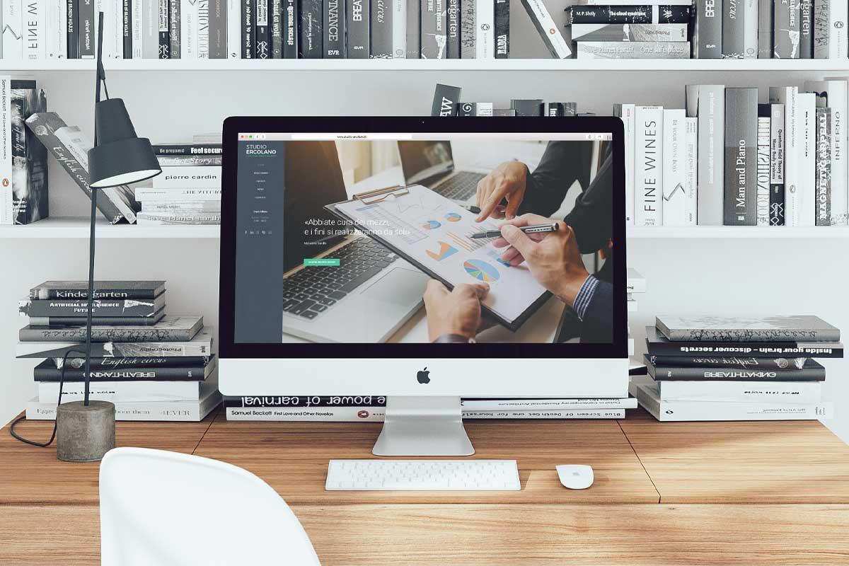 Studio Ercolano - Realizzazione sito web - WHICA | Grafica e Web per la Comunicazione Aziendale | Realizzazione siti web, e-commerce, grafica pubblicitaria, marketing on-line e off-line | Napoli
