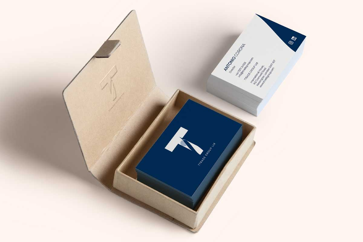 TTrade Group - Progettazione biglietti da visita - WHICA   Grafica e Web per la Comunicazione Aziendale   Realizzazione siti web, e-commerce, grafica pubblicitaria, marketing on-line e off-line   Napoli