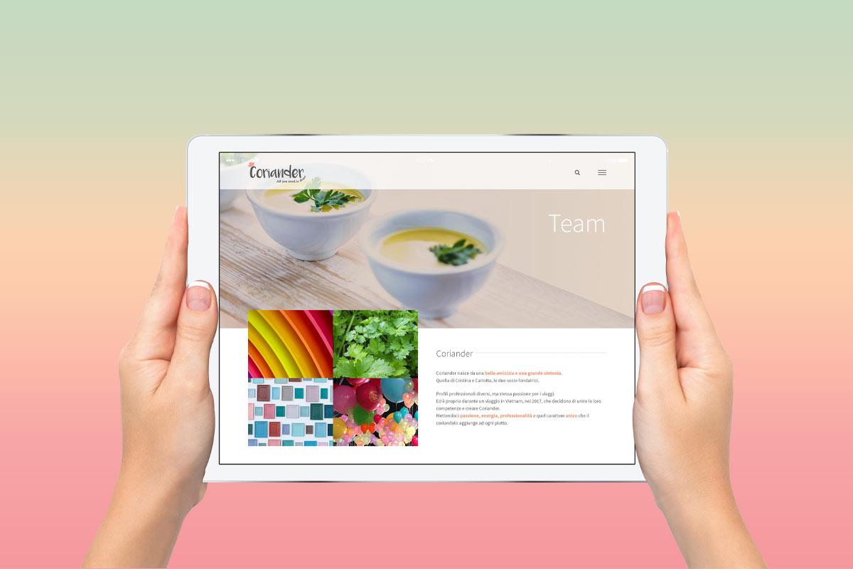 Coriander srl - Realizzazione sito web - WHICA | Grafica e Web per la Comunicazione Aziendale | Realizzazione siti web, e-commerce, grafica pubblicitaria, marketing on-line e off-line | Napoli